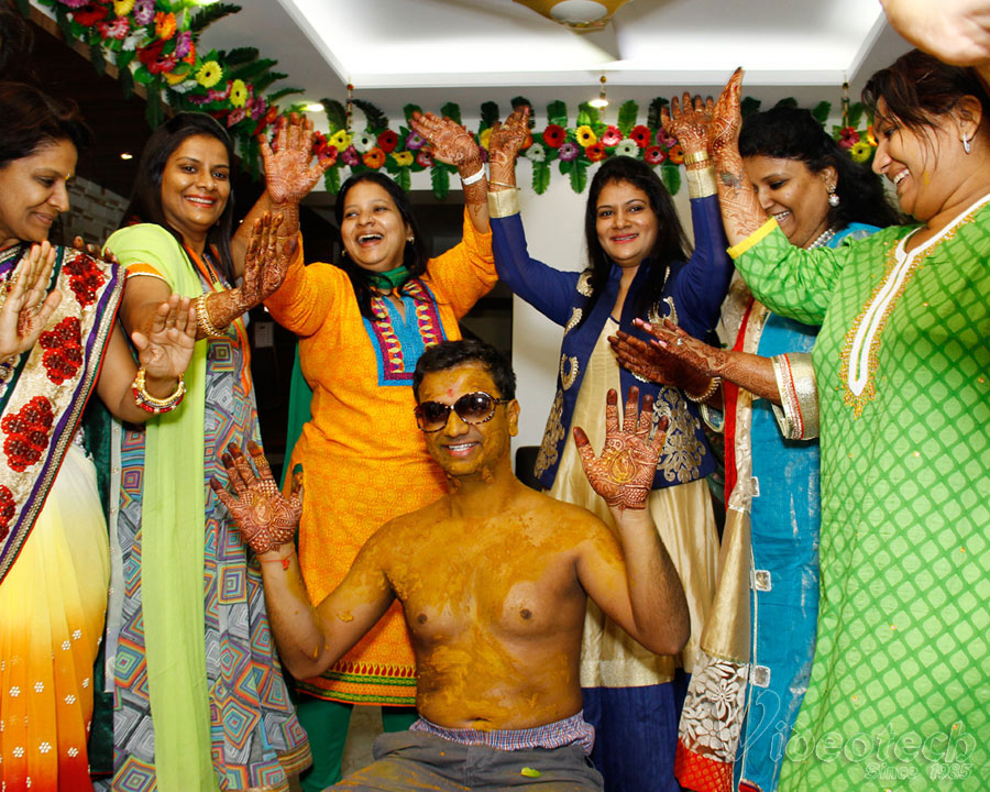 Haldi Ceremony Professional Photography And Videography